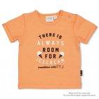 Feetje T-Shirt Korte Mouw Always Neon Oranje