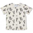 Feetje T-Shirt Korte Mouw Cactus Offwhite