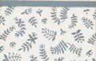 Briljant Wieglaken Botanical Organic Blauw Grijs  75 x 100 cm